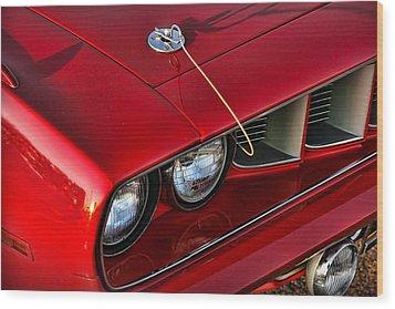 1971 Plymouth Hemi 'cuda Wood Print by Gordon Dean II