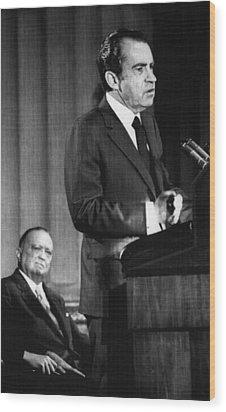 1971 Us Presidency.  Fbi Director J Wood Print by Everett