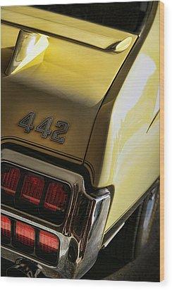 1972 Oldsmobile 442 Wood Print by Gordon Dean II
