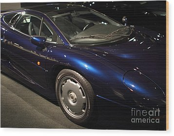 1992 Jaguar Xj220 - 7d17250 Wood Print by Wingsdomain Art and Photography