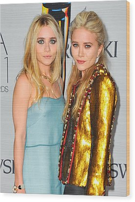 Ashley Olsen Wearing The Row, Mary-kate Wood Print by Everett