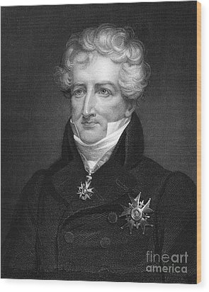 Baron Georges Cuvier Wood Print by Granger