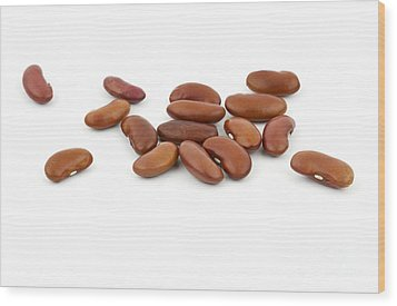 Beans Wood Print by Blink Images