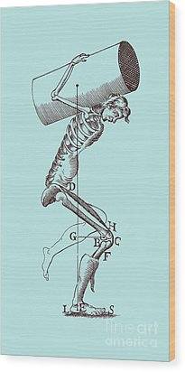 Biomechanics Wood Print by Science Source