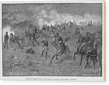 Chancellorsville, 1863 Wood Print by Granger