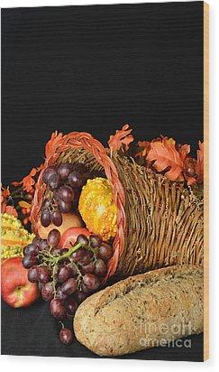 Cornucopia  Wood Print by Timothy OLeary
