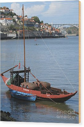 Wood Print featuring the photograph Douro River by Arlene Carmel