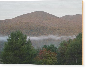 Early Autumn In Vermont Wood Print by Margrit Schlatter