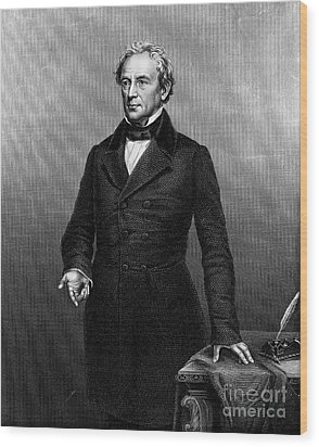 Edward Everett (1794-1865) Wood Print by Granger