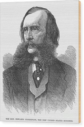 Edwards Pierrepont Wood Print by Granger
