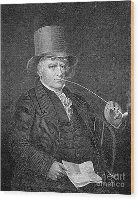 Elkanah Watson (1758-1842) Wood Print by Granger