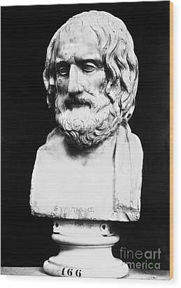 Euripides Wood Print by Granger