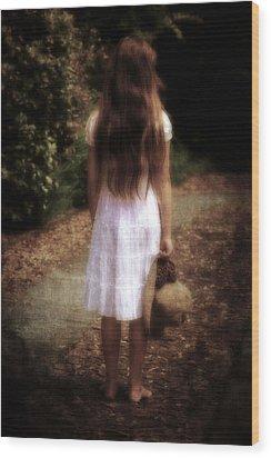 Farewell Wood Print by Joana Kruse