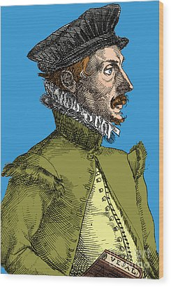 Felix Plater, Swiss Physician Wood Print by Science Source