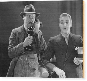 Film Still: Telephones Wood Print by Granger