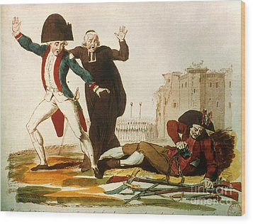 French Revolution, 1792 Wood Print by Granger