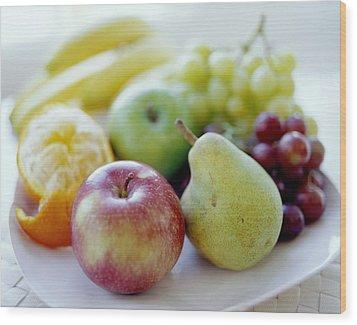 Fruits Wood Print by David Munns