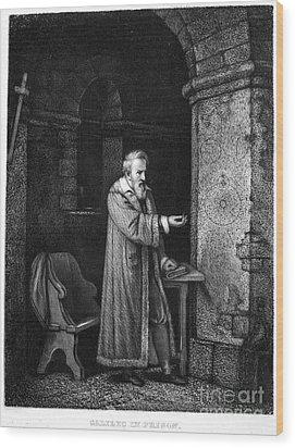 Galileo Galilei (1564-1642) Wood Print by Granger