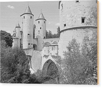 Germans Gate Metz France Wood Print by Joseph Hendrix