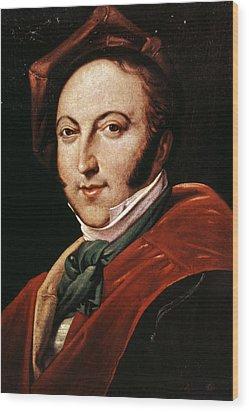 Gioacchino Rossini Wood Print by Granger