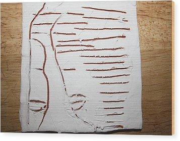 Greeting - Tile Wood Print by Gloria Ssali