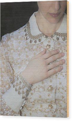 Hand Wood Print by Joana Kruse