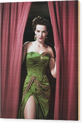 Jane Russell, Portrait Wood Print by Everett