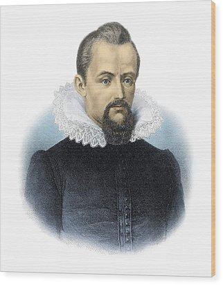 Johannes Kepler, German Astronomer Wood Print by Detlev Van Ravenswaay