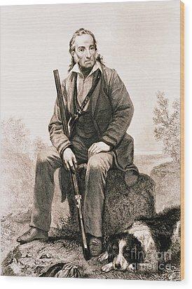 John James Audubon, French-american Wood Print by Science Source