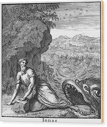 Jonah Wood Print by Granger
