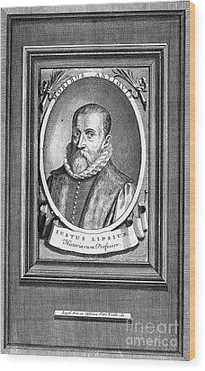 Justus Lipsius (1547-1606) Wood Print by Granger