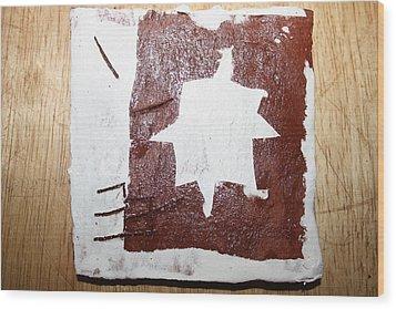 Love - Tile Wood Print by Gloria Ssali