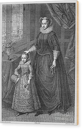 Mary, Queen Of Scots Wood Print by Granger