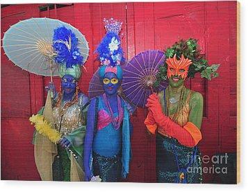 Mermaid Parade 2011 Coney Island Wood Print