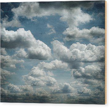 My Sky Your Sky  Wood Print by Jerry Cordeiro
