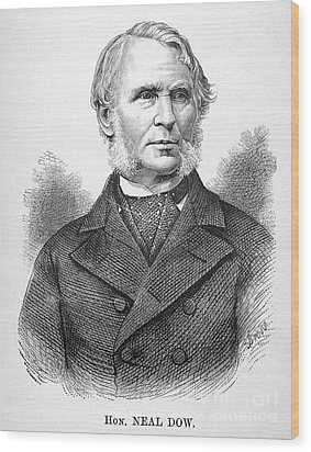 Neal Dow (1804-1897) Wood Print by Granger