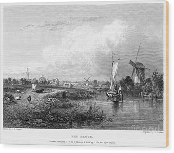 Netherlands: The Hague Wood Print by Granger