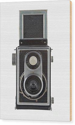 Old Camera Wood Print by Michal Boubin