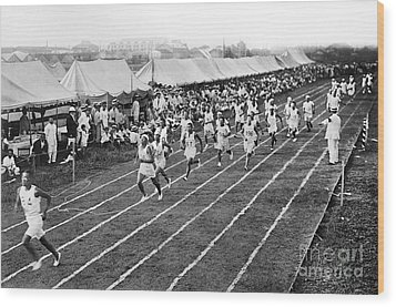 Olympic Games, 1912 Wood Print by Granger