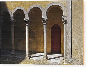 Palace Arch Wood Print by Carlos Caetano