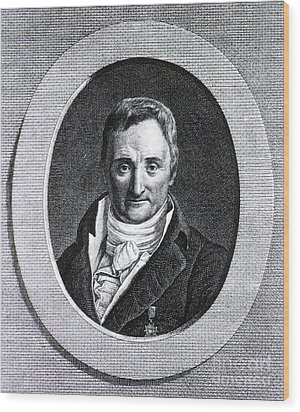 Philippe Pinel, French Physician Wood Print by Science Source