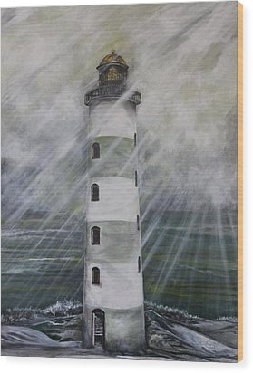 Point Lookout Lighthouse Wood Print