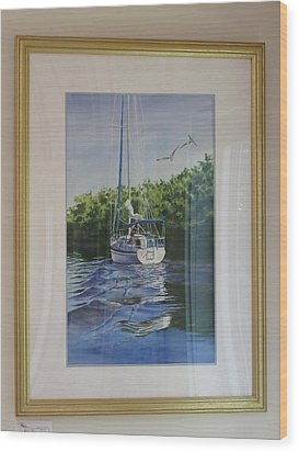 Ponce De Leon Passage Wood Print by Karol Wyckoff
