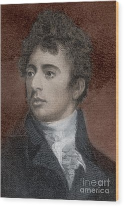 Robert Southey, English Poet Laureate Wood Print by Photo Researchers