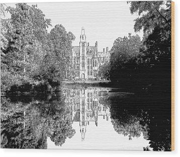 Schloss Loppem Loppem Belgium Wood Print by Joseph Hendrix