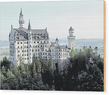 Schloss Neuschwanstein Germany Wood Print by Joseph Hendrix