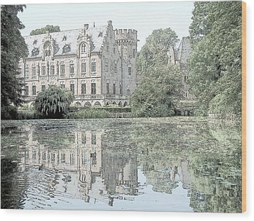 Schloss Paffendorf Germany Wood Print by Joseph Hendrix
