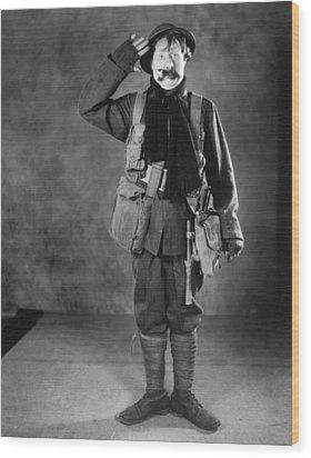 Silent Film Still: Uniforms Wood Print by Granger