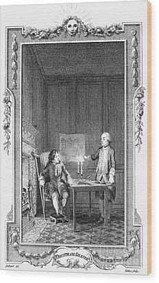 Sterne: Tristram Shandy Wood Print by Granger