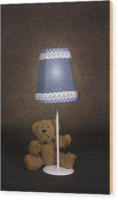 Teddy Bear Wood Print by Joana Kruse